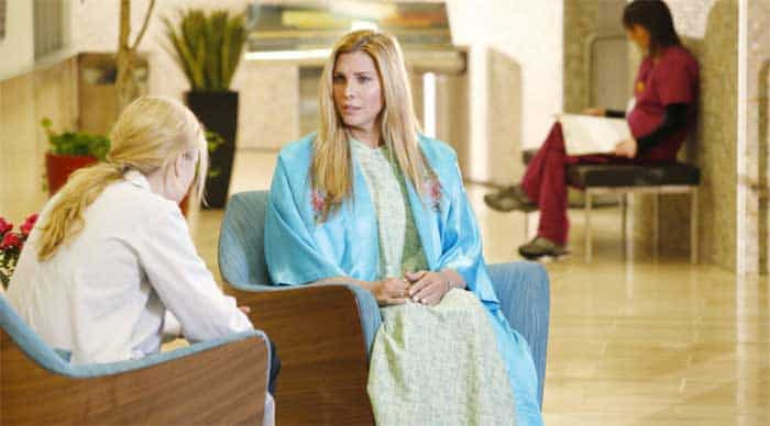 Melissa George and Candis Cayne in Heartbeat