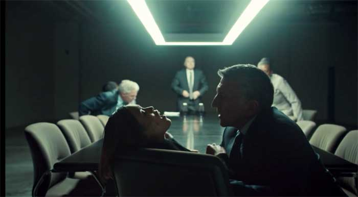 Jessalyn Wanlim and Scott Wentworth in Orphan Black