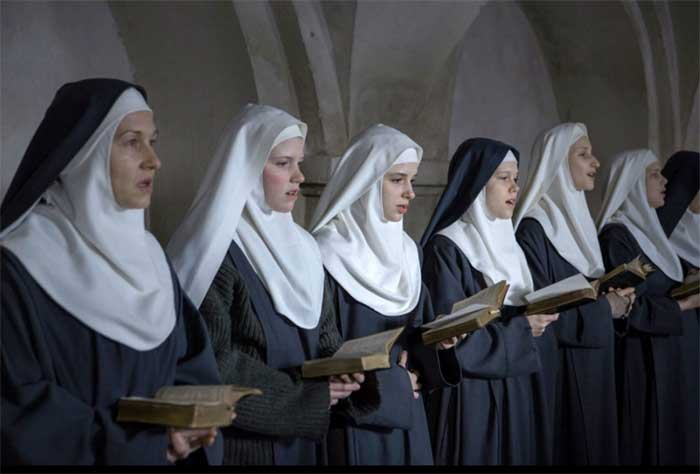 nuns singing in The Innocents