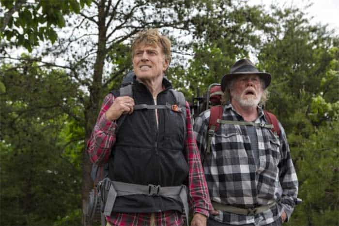 Robert Redford and Nick Nolte in A Walk in the Woods