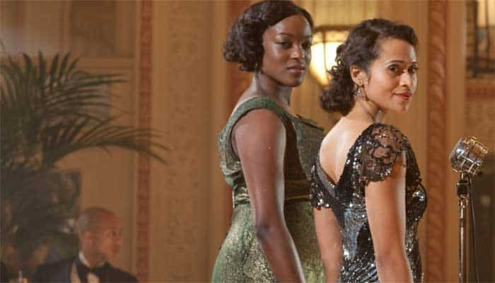 Angel Coulby and Wunmi Mosaku in Dancing on the Edge