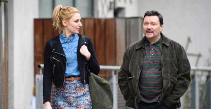 Laura Carmichael and Ian Puleston-Davies in Marcella