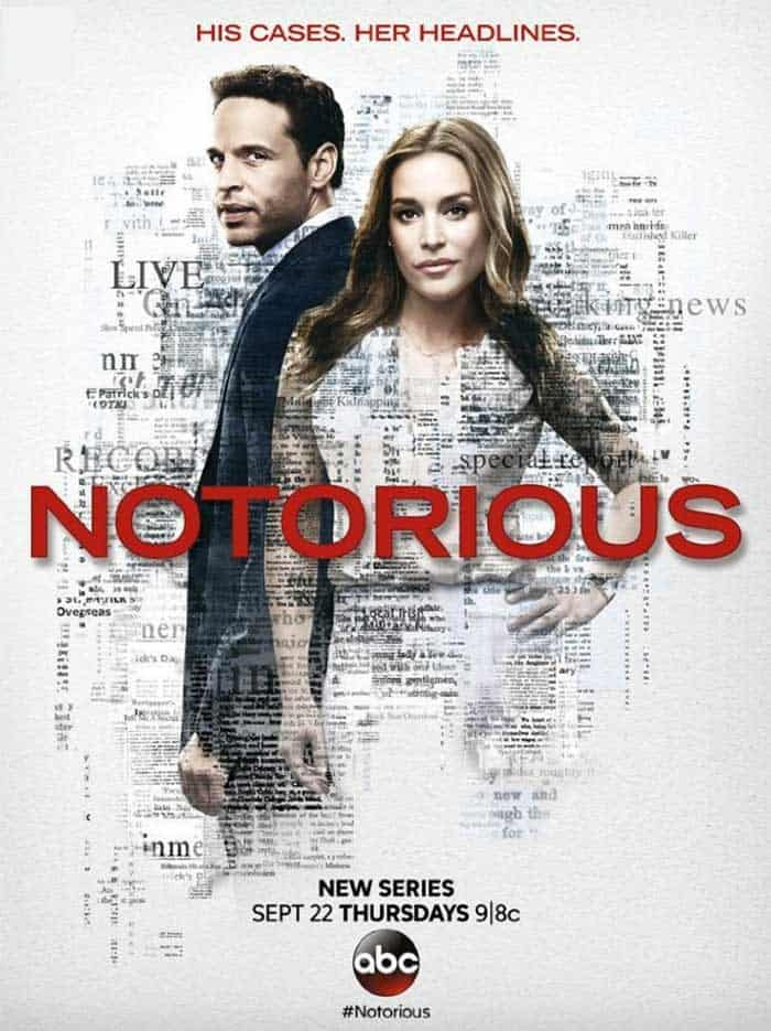 The poster for Notorious