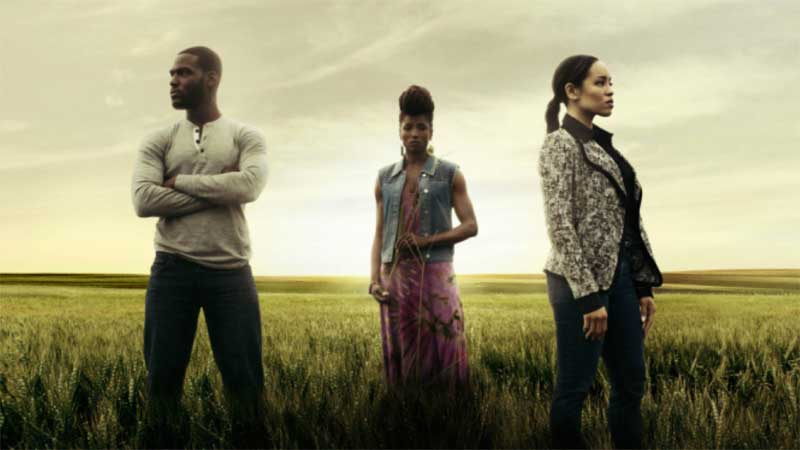 Rutina Wesley, Dawn-Lyen Gardner and Kofi Siriboe in Queen Sugar