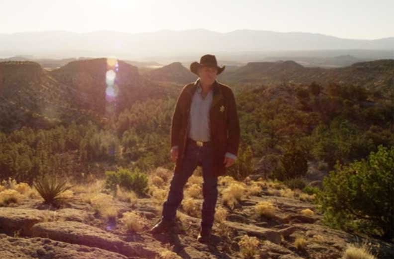 Robert Taylor as Sheriff Walt Longmire