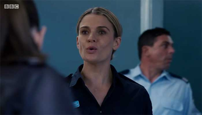 Danielle Cormack in Deep Water