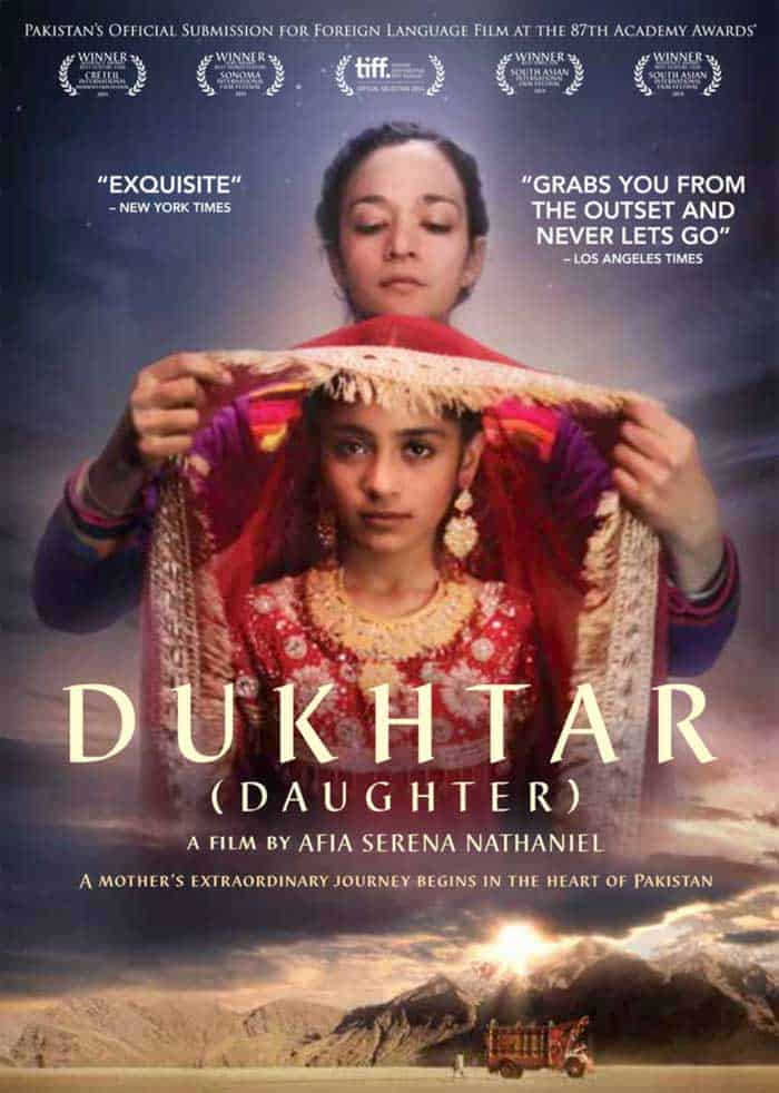 The poster for Dukhtar