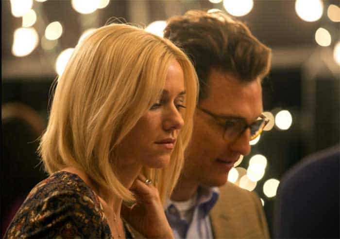 Naomi Watts and Matthew Matthew McConaughey in The Sea of Trees