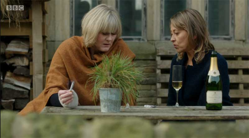Sarah Lancashire and Nicola Walker in Last Tango in Halifax