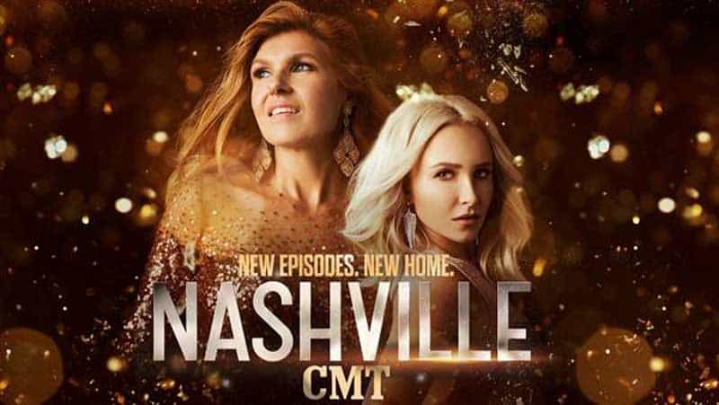 Nashville season 5 poster with Connie Britton and Hayden Panettiere