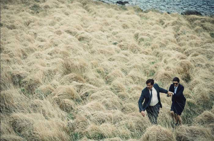 Colin Farrell and Rachel Weisz in The Lobster