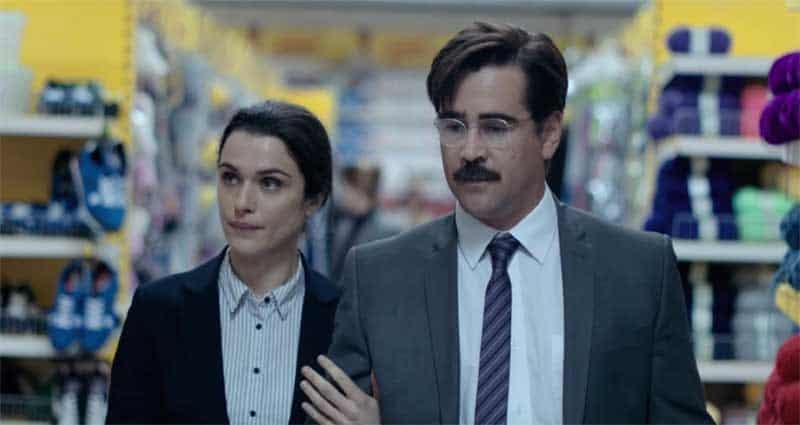 Rachel Weisz and Colin Farrell in The Lobster