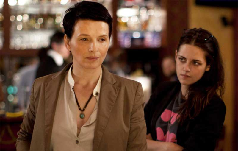 Juliette Binoche and Kristen Stewart in Cloud of Sils Maria