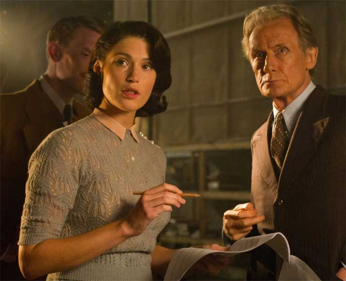 Gemma Arterton and Bill Nighy in Thier Finest