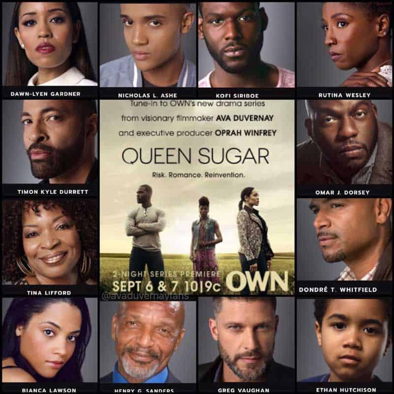 a Queen Sugar poster