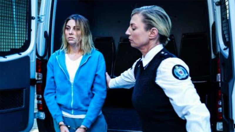 Kate Jenkinson and Jacqueline Brennan in Wentworth season 5