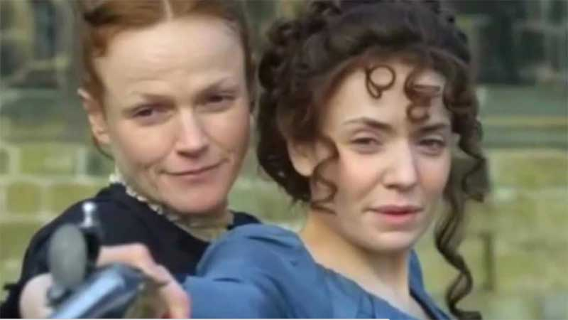 Maxine Peake and Christine Bottomley in The Secret Diaries of Miss Anne Lister