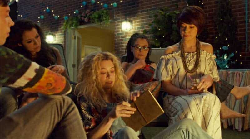 Tatiana Maslany as 4 characters in Orphan Black