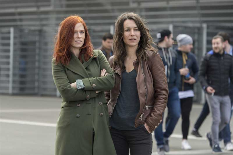 Audrey Fleurot and Marie Dompnier in Witnesses (Les témoins)