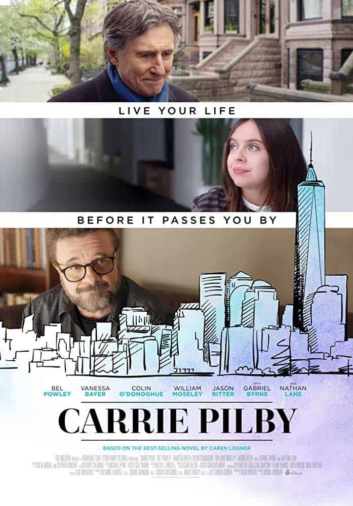 the Carrie Pilby poster