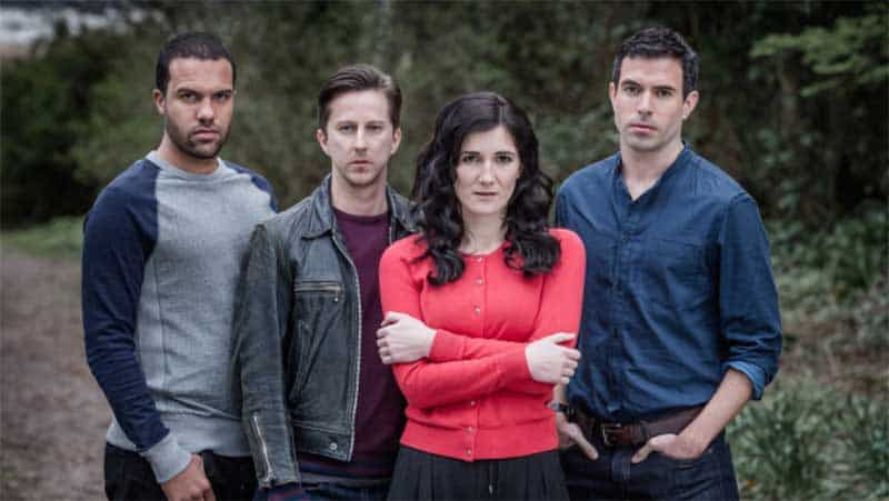 Lee Ingleby, O-T Fagbenle, Sarah Solemani, Tom Cullen in The Five