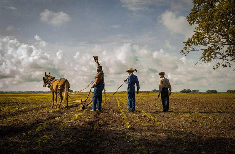 Rob Morgan, Frankie Smith, Joshua J. Williams in Mudbound