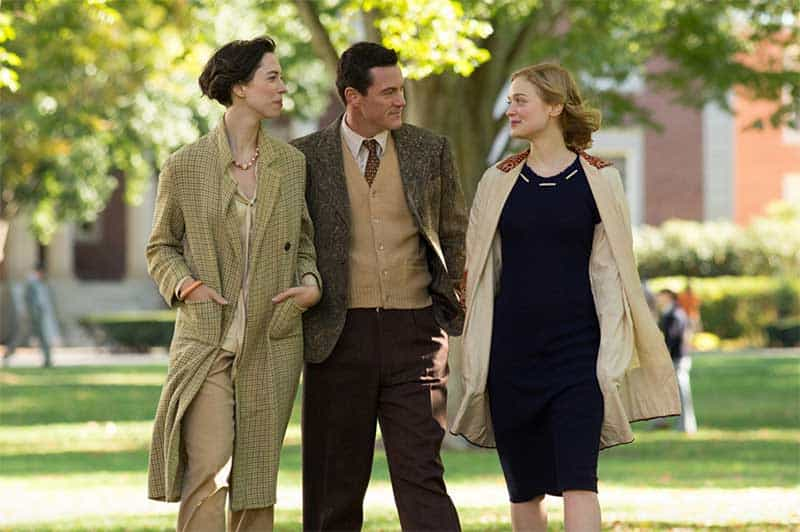 Luke Evans, Rebecca Hall, Bella Heathcote in Professor Marston and the Wonder Women