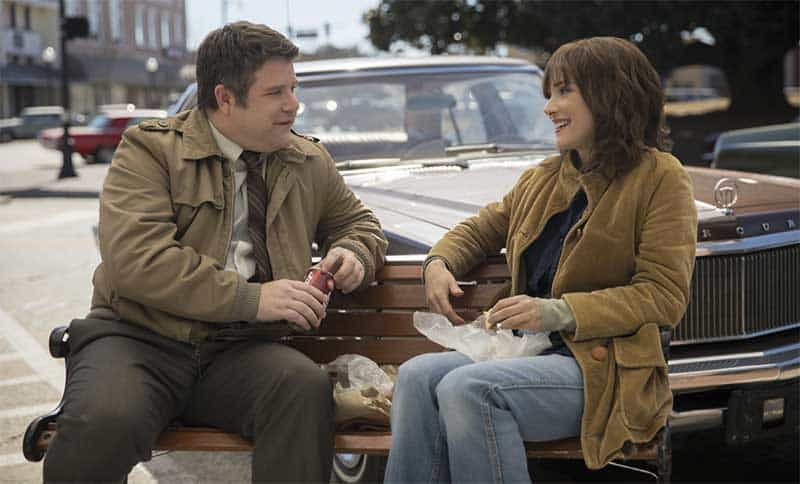 Sean Astin and Winona Ryder in Stranger Things