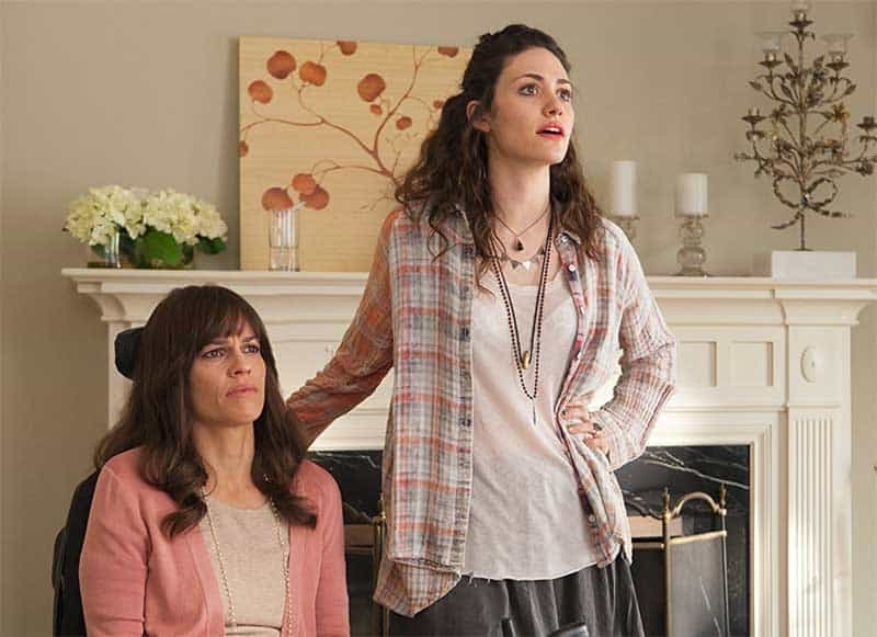 Hilary Swank and Emmy Rossum in You're Not You