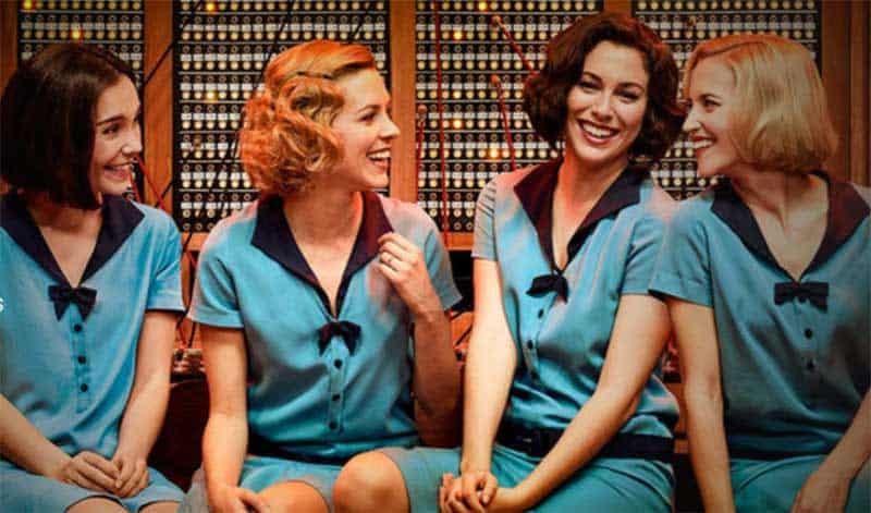 Nadia de Santiago, Maggie Civantos, Blanca Suárez, and Ana Fernández in Cable Girls (Las Chicas Del Cable)