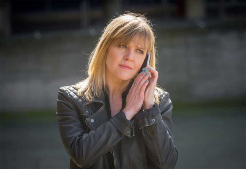 Ashley Jensen in Love, Lies, and Records