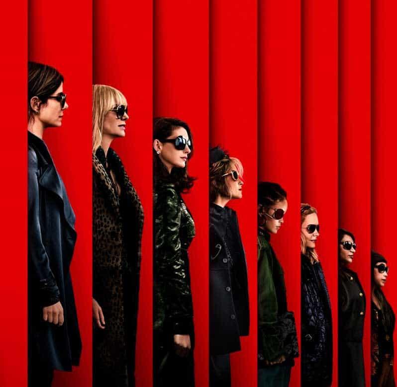 Ocean's 8 cast poster