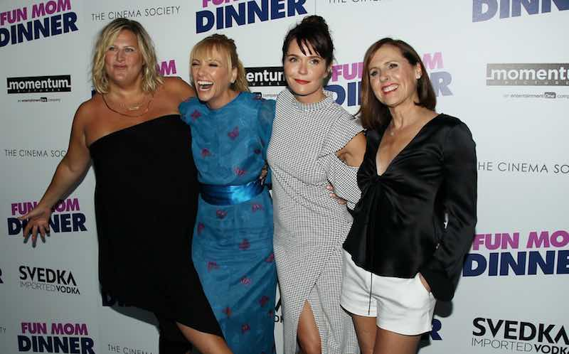 Toni Collette, Molly Shannon, Bridget Everett, Katie Aselton at an event for Fun Mom Dinner