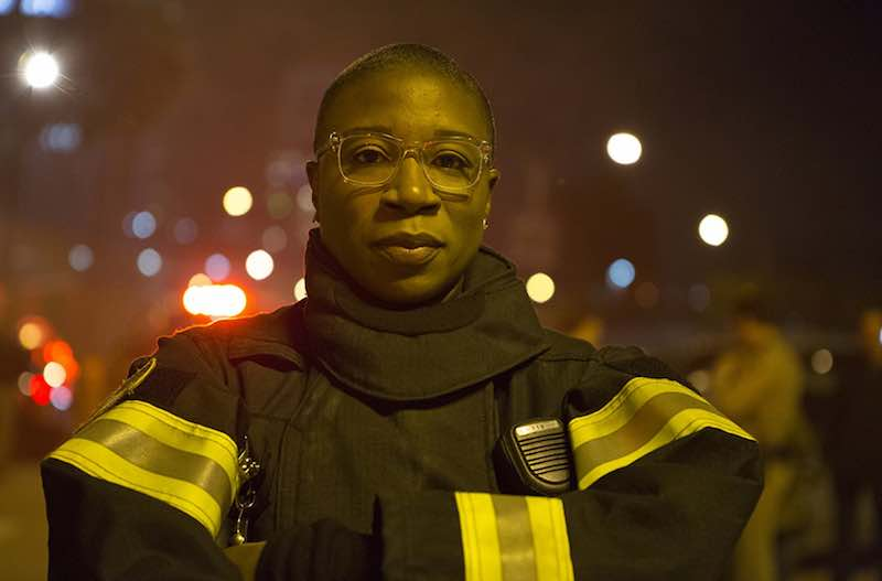 Aisha Hinds in 9-1-1