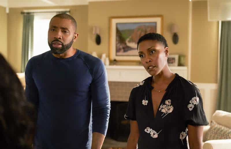 Christine Adams and Cress Williams in Black Lightning