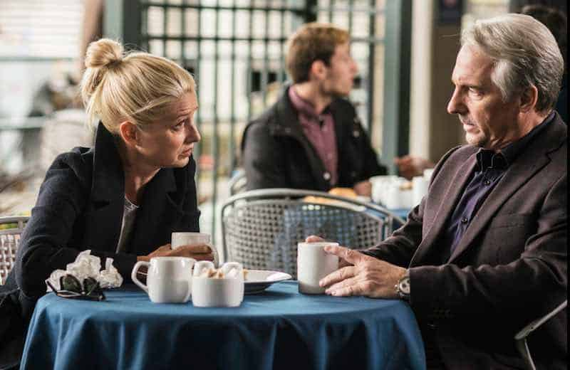 Katherine LaNasa and Brian Benben in Imposters