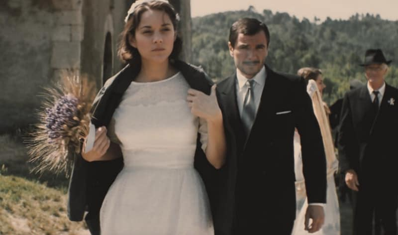 Marion Cotillard and Alex Brendemühl in From the Land of the Moon