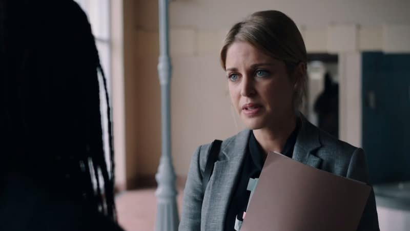 Amy Huberman in Striking Out