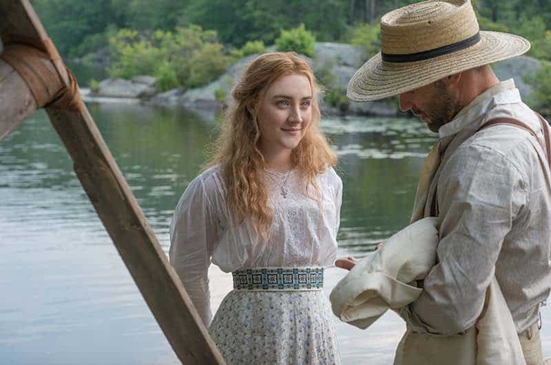 Corey Stoll and Saoirse Ronan in The Seagull