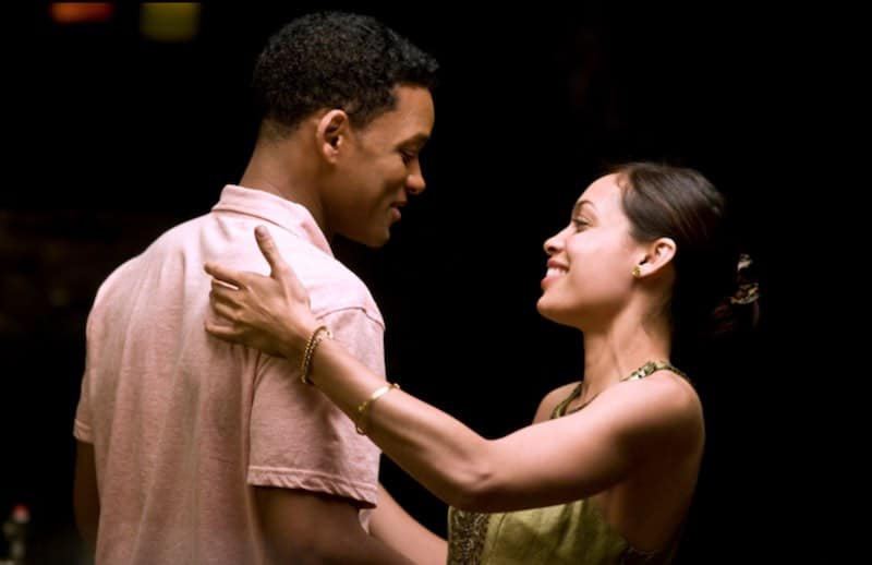 Will Smith and Rosario Dawson in Seven Pounds