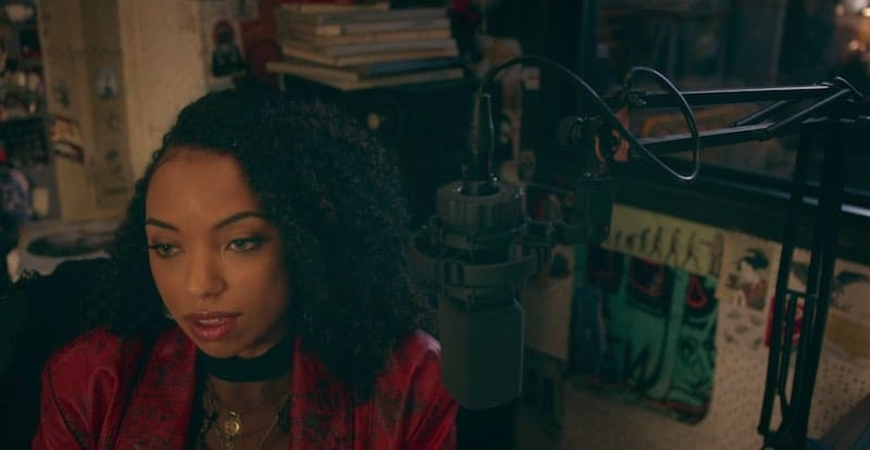 Logan Browning in Dear White People