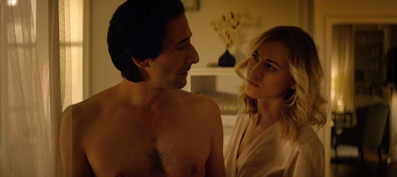 Adrien Brody and Yvonne Strahovski in Manhattan Night