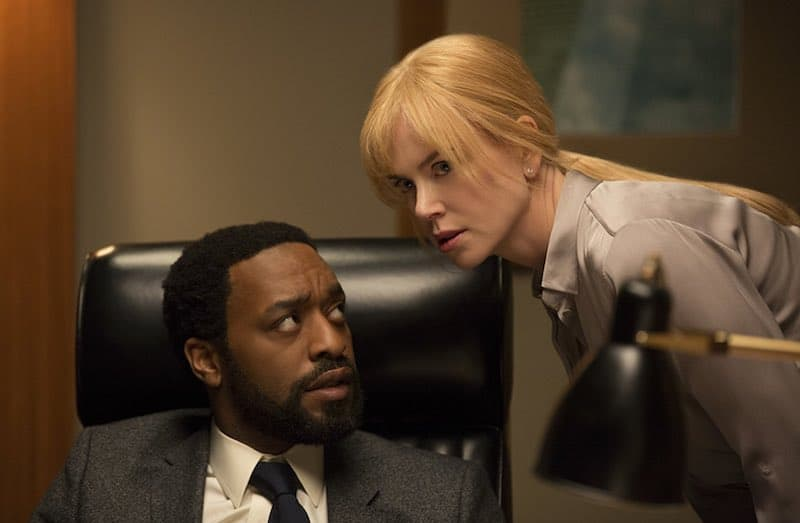 hiwetel Ejiofor and Nicole Kidman in Secret in Their Eyes