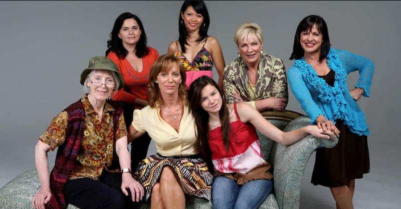 the main female cast of Bed of Roses