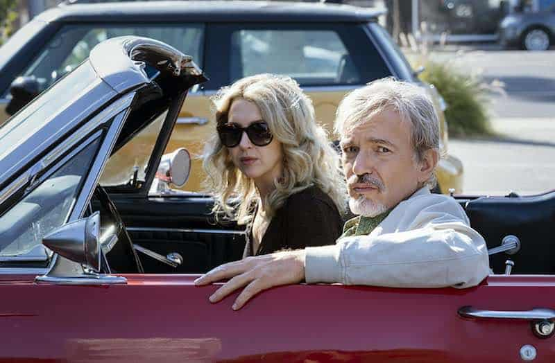Billy Bob Thornton and Nina Arianda in Goliath