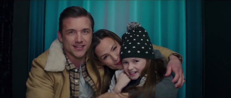 Riley's happy family before the shooting in Peppermint