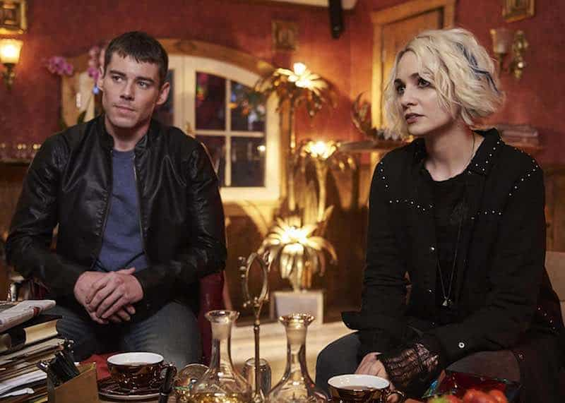 Brian J. Smith and Tuppence Middleton in Sense8