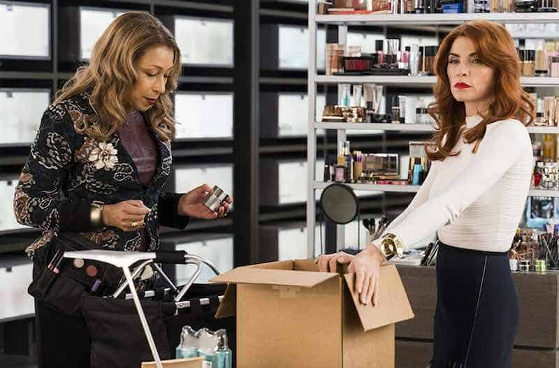 Tamara Tunie and Julianna Margulies in Dietland