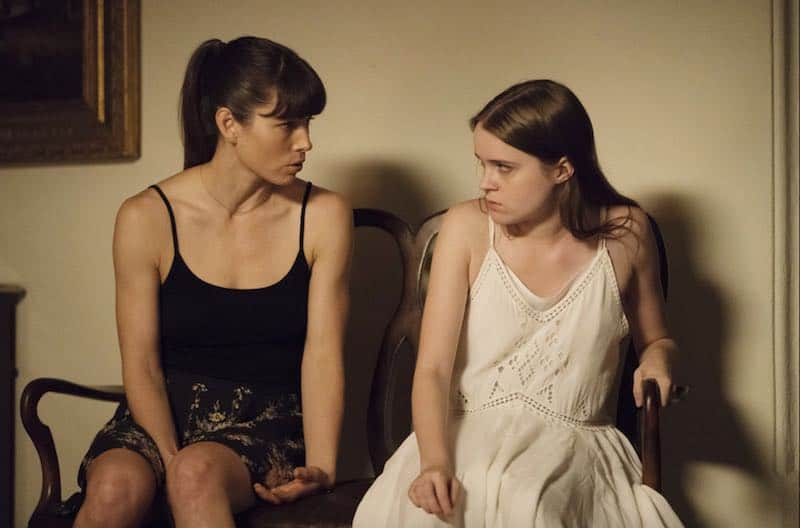 Jessica Biel and Nadia Alexander in The Sinner