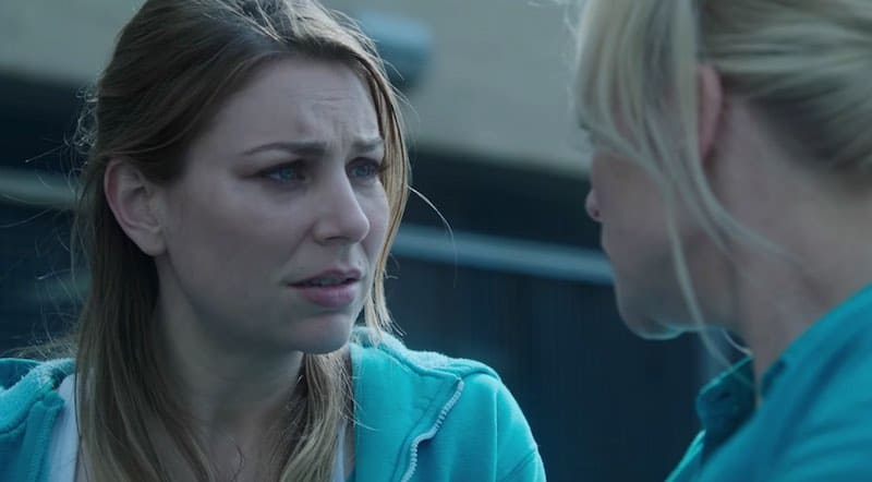 Kate Jenkinson and Susie Porter in Wentworth